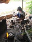 Forging a blade