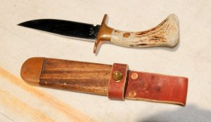 Ron Ryan's knife and sheath