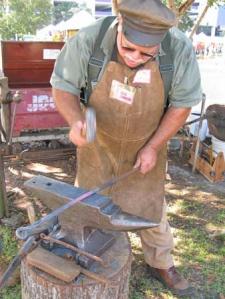 Tim Lemier at work