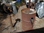 Modified 55 gallon drum