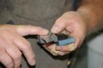 Fitting slab handles