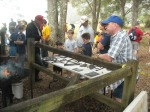 Sid explains importance of Blacksmithing to Scouts
