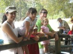 Many Scout familes were interested in Blacksmithing