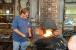 Mark demos forging a leaf